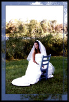 Becca- wedding blue chair